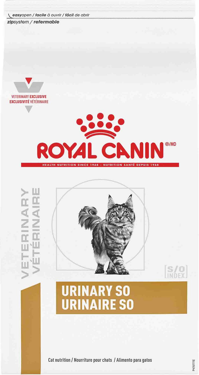 Royal Canin Veterinary Diet Urinary SO Dry Cat Food, 17.6 ...