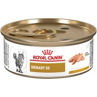 Royal Canin Veterinary Diet Urinary SO in Gel Canned Cat Food, 5.8-oz, case of 24
