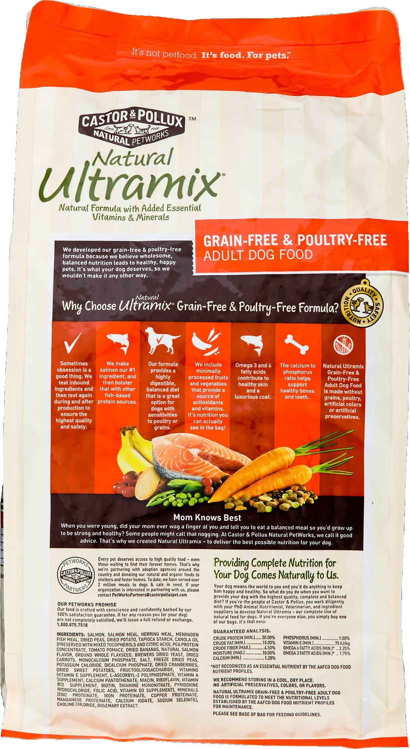 Castor And Pollux Natural Ultramix Grain Free And Poultry Free