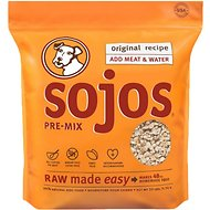 Sojos Pre-Mix Original Recipe Freeze-Dried Dog Food Mix, 10-lb bag