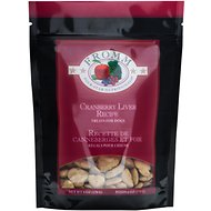 Fromm Four-Star Nutritionals Cranberry Liver Dog Treats, 6-oz bag