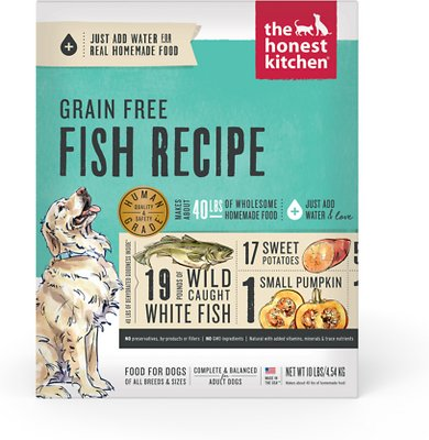 The Honest Kitchen Zeal Grain Free Dehydrated Dog Food