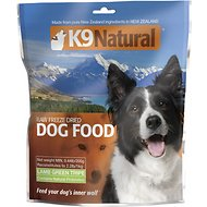 K9 Natural Lamb Green Tripe Raw Grain-Free Freeze-Dried Dog Food, 0.44-lb bag, makes 2.2-lbs of food
