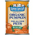 Nummy Tum-Tum Pure Organic Pumpkin Canned Dog & Cat Food Supplement