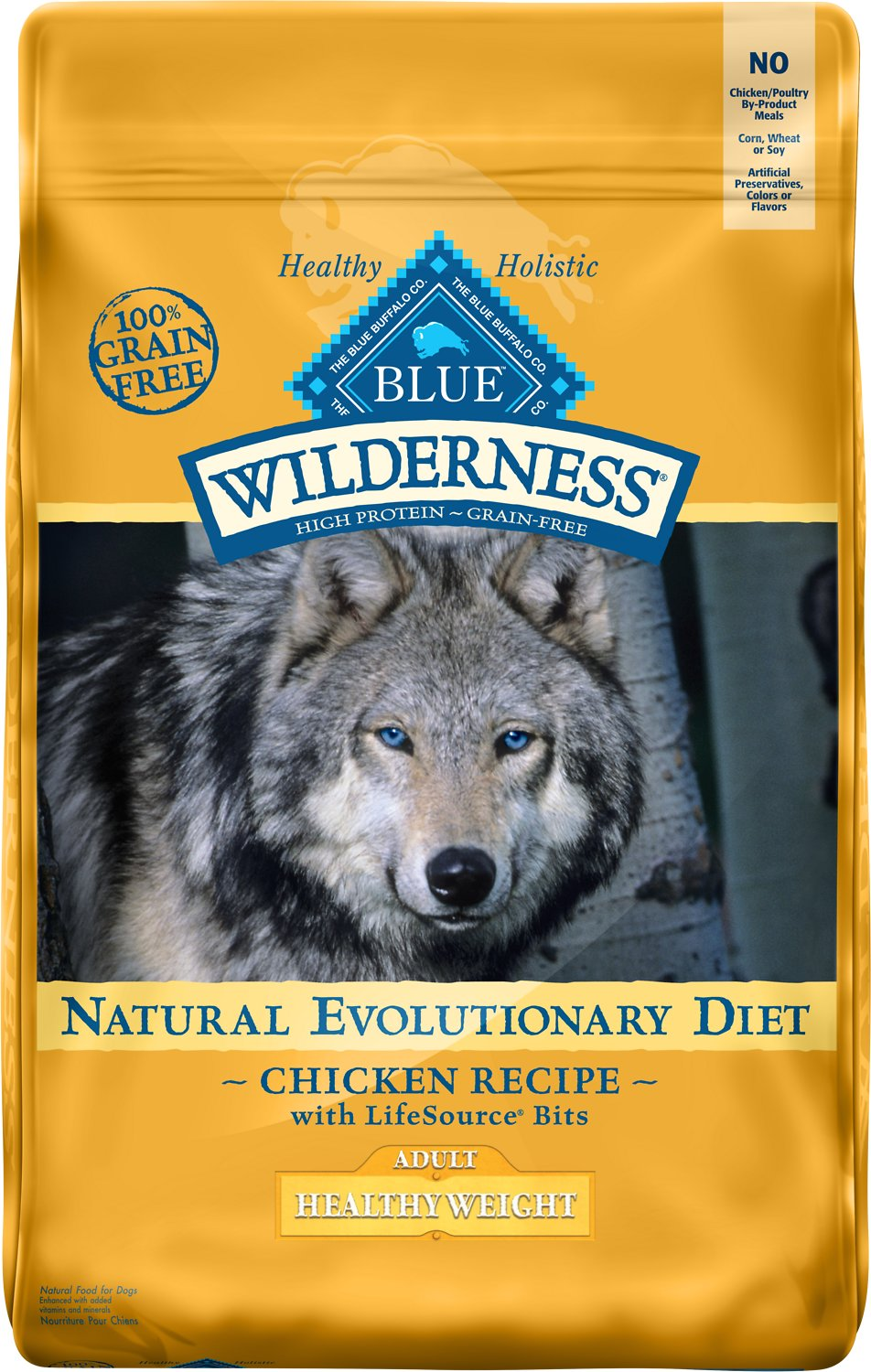 Blue Buffalo Wilderness Healthy Weight Dry Dog Food