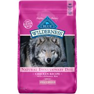 Blue Buffalo Wilderness Small Breed Chicken Recipe Grain-Free Dry Dog Food, 11-lb bag