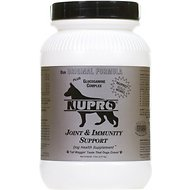 Nupro All Natural Joint & Immunity Support Dog Supplement, 5-lb jar, 80 scoops