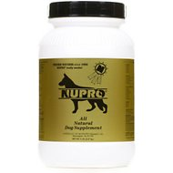 Nupro All Natural Dog Supplement, 5-lb jar, 80 scoops