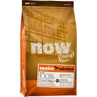 Now Fresh Grain-Free Senior Weight Management Recipe Dry Dog Food, 25-lb bag