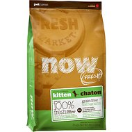 Now Fresh Grain-Free Kitten Recipe Dry Cat Food, 8-lb bag