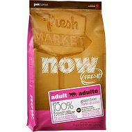 Now Fresh Grain-Free Adult Recipe Dry Cat Food, 4-lb bag