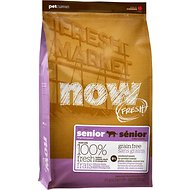 Now Fresh Grain-Free Senior Weight Management Recipe Dry Cat Food, 4-lb bag