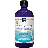 Nordic Naturals Pet Cod Liver Oil Dog Supplement, Large to X-Large Breeds