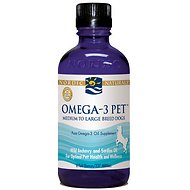 Nordic Naturals Omega-3 Dog Supplement, Medium/Large breed dogs, 8-oz bottle
