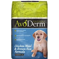AvoDerm Natural Chicken Meal & Brown Rice Formula Puppy Dry Dog Food, 26-lb bag