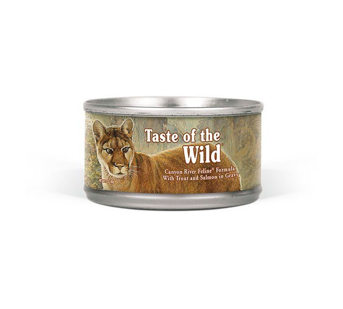 Taste Of The Wild Dog Food Reviews >> Taste of the Wild Canyon River Grain-Free Canned Cat Food ...