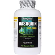 Nutramax Dasuquin with MSM Joint Health Chewable Tablets Large Dog Supplement, 150 count