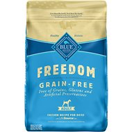 Blue Buffalo Freedom Adult Chicken Recipe Grain-Free Dry Dog Food, 24-lb bag