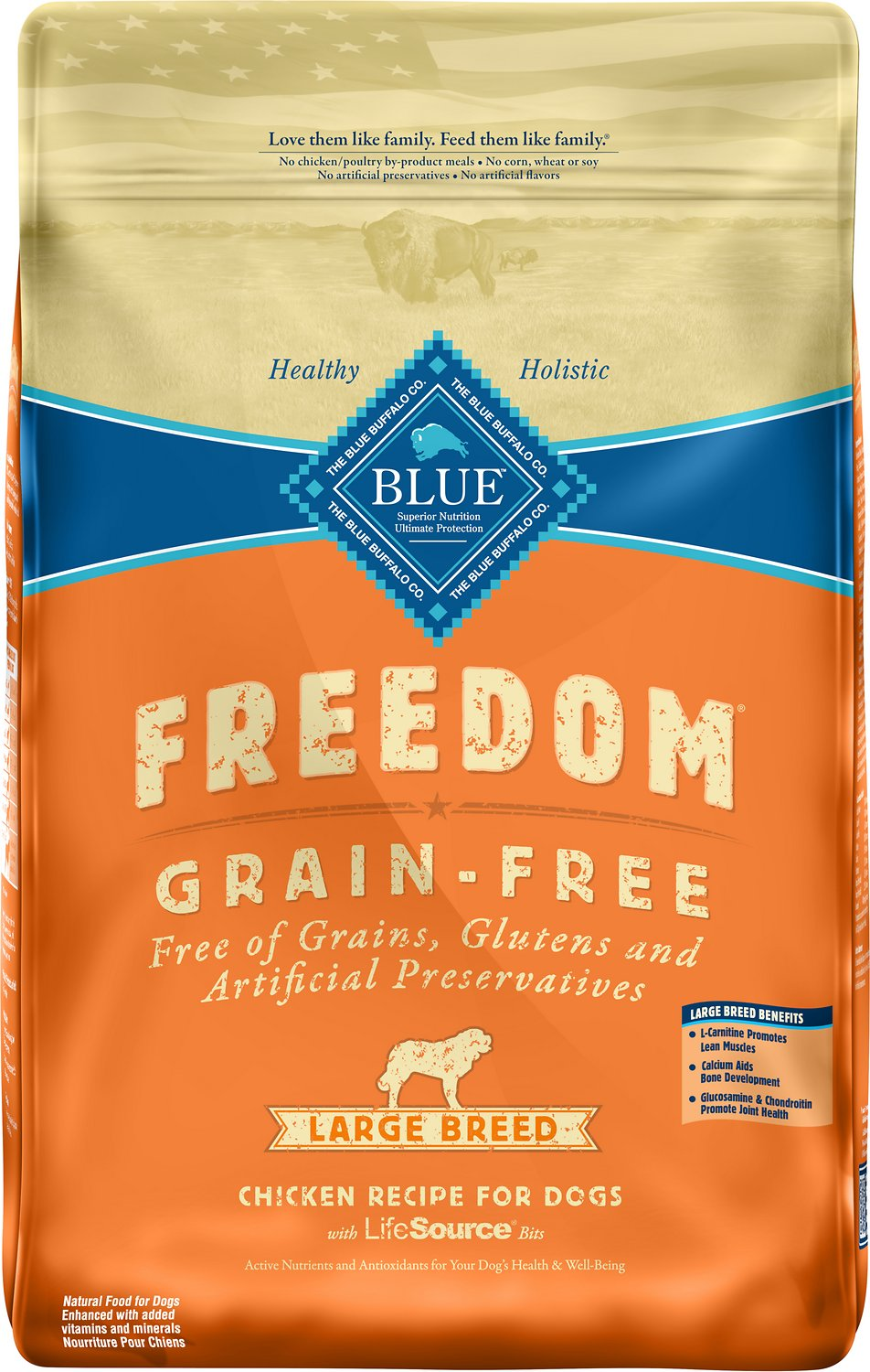 Ingredients In Blue Buffalo Grain Free Dog Food
