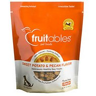 Fruitables Sweet Potato & Pecan Flavor Crunchy Dog Treats, 7-oz bag