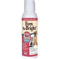 Ark Naturals Eyes So Bright Dog & Cat Gentle Cleanser, 4-oz bottle