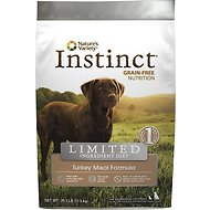 Nature's Variety Instinct Limited Ingredient Diet Turkey Meal Formula Grain-Free Dry Dog Food, 25.3-lb bag