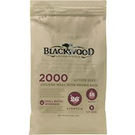 Blackwood 2000 Chicken Meal & Brown Rice Recipe Active Diet Dry Dog Food, 30-lb bag
