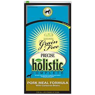 Precise Holistic Complete Pork Meal & Garbanzo Bean Formula Grain-Free Dry Dog Food, 26-lb bag