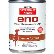 HI-TOR Veterinary Select Eno Diet Canned Dog Food, 13.2-oz, case of 12