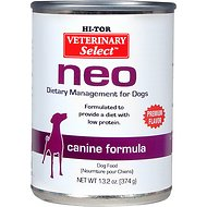 HI-TOR Veterinary Select Neo Diet Canned Dog Food, 13.2-oz, case of 12