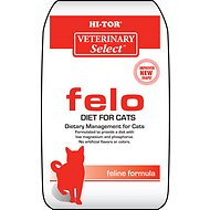HI-TOR Veterinary Select Felo Diet Dry Cat Food, 4-lb bag