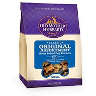 Old Mother Hubbard Classic Original Assortment Biscuits Baked Dog Treats, Small, 3.5-lb bag