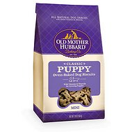 Old Mother Hubbard Classic Puppy Biscuits Mini Baked Dog Treats, 20-oz bag