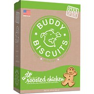 Buddy Biscuits Original Oven Baked with Roasted Chicken Dog Treats, 16-oz bag