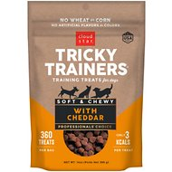 Cloud Star Chewy Tricky Trainers Cheddar Flavor Dog Treats, 14-oz bag