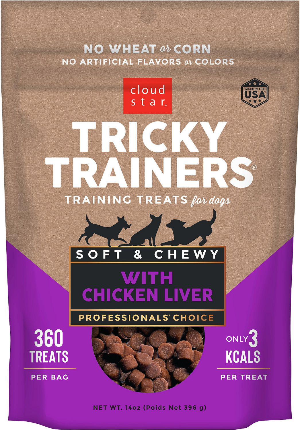 Tricky Trainers Dog Treats