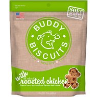 Buddy Biscuits Original Soft & Chewy with Roasted Chicken Dog Treats, 6-oz bag