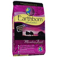Earthborn Holistic Meadow Feast Grain-Free Natural Dry Dog Food, 28-lb bag