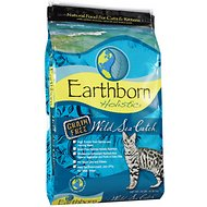 Earthborn Holistic Wild Sea Catch Grain-Free Natural Dry Cat & Kitten Food, 14-lb bag