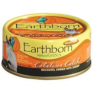 Earthborn Holistic Catalina Catch Grain-Free Natural Canned Cat & Kitten Food, 5.5-oz, case of 24