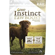 Nature's Variety Instinct Raw Boost Grain-Free Chicken Meal Formula Dry Dog Food, 23.5-lb bag