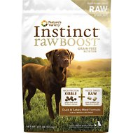 Nature's Variety Instinct Raw Boost Grain-Free Duck & Turkey Meal Formula Dry Dog Food, 23.5-lb bag