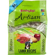 Grandma Lucy's Artisan Grain-Free Lamb Freeze-Dried Dog Food, 10-lb bag