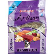Grandma Lucy's Artisan Grain-Free Venison Freeze-Dried Dog Food, 10-lb bag