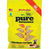 Grandma Lucy's Pureformance Grain-Free Chicken Freeze-Dried Dog Food, 10-lb bag