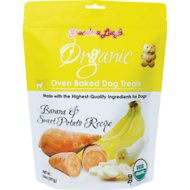 Grandma Lucy's Organic Banana & Sweet Potato Oven Baked Dog Treats, 14-oz bag