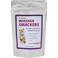Dr. Harvey's Whisker Smackers Freeze-Dried Cat Treats, Beef