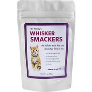 Dr. Harvey's Whisker Smackers Freeze-Dried Cat Treats, Fish