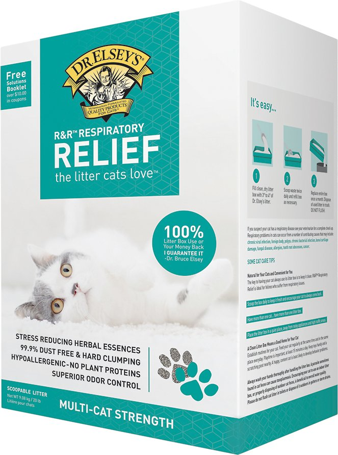 Dr Elsey S Precious Cat Respiratory Relief Clumping Clay