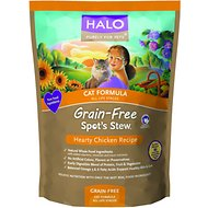 Halo Spot's Stew Hearty Chicken Recipe Grain-Free Dry Cat Food, 11.5-lb bag